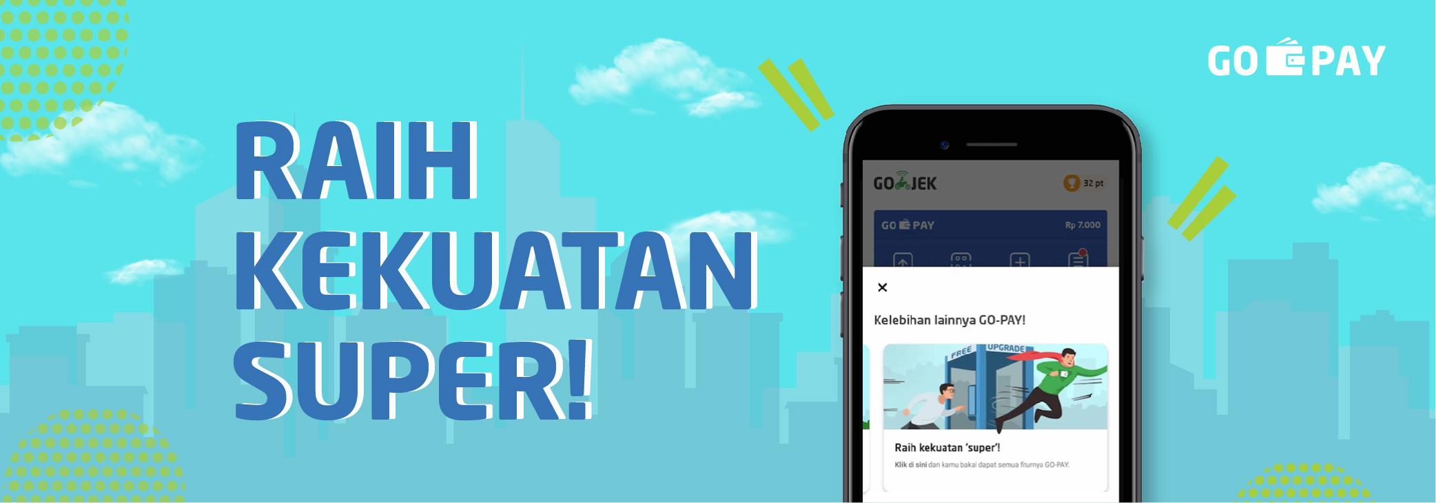 Cara Mudah Upgrade Akun Go Pay Go Pay Go Jek Indonesia