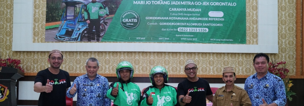 Pertama di Indonesia, GO-JEK Bermitra dengan Becak Motor untuk Gorontalo