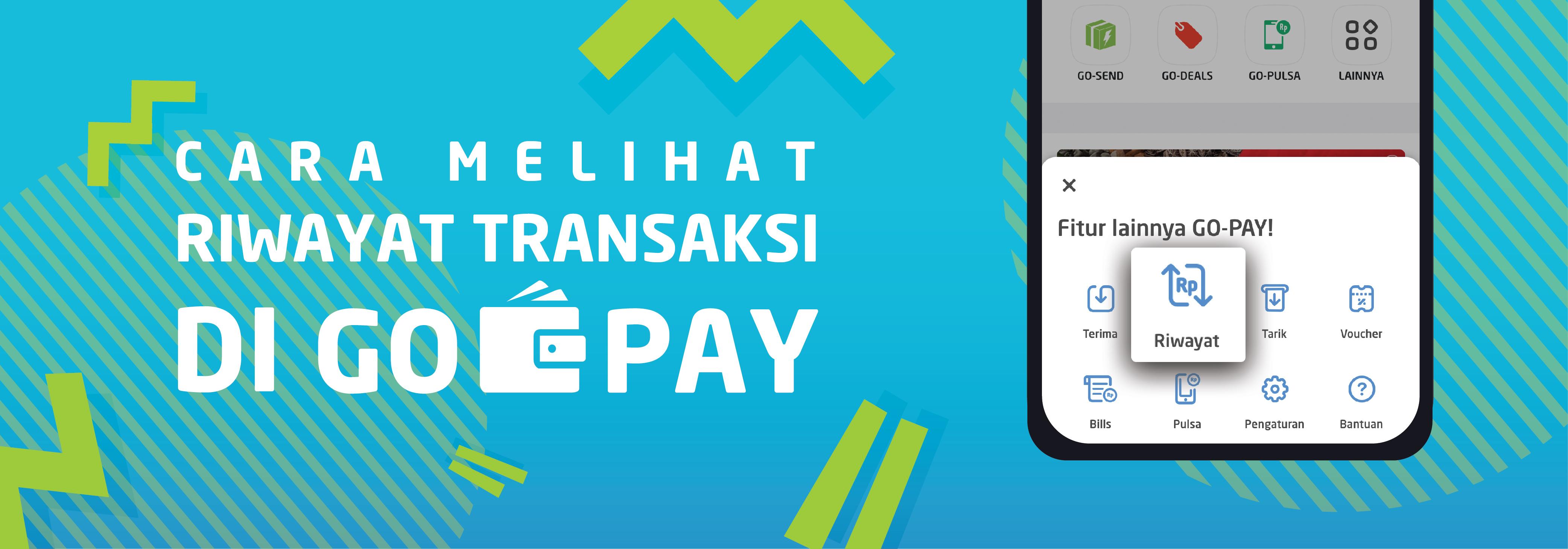 Cara Melihat Riwayat Transaksi Di Go Pay Go Pay Go Jek