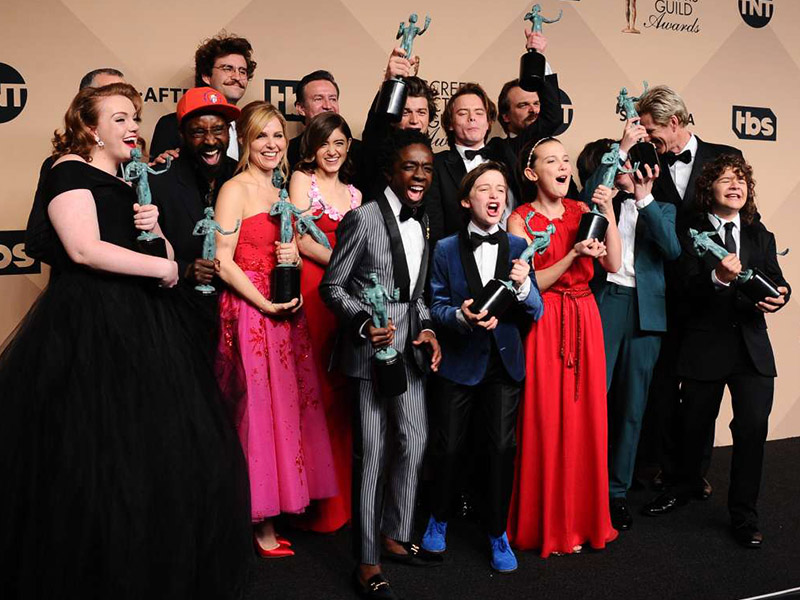 3 Gaya Rambut Terunik di Screen Actors Guild Awards 2018