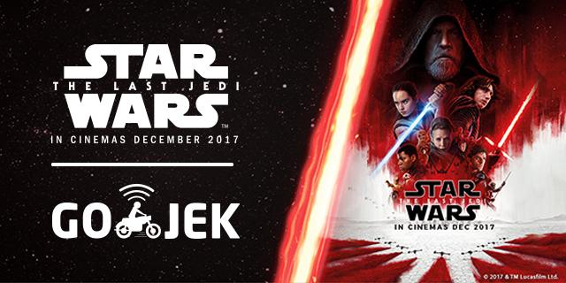 Sambut Peluncuran Star Wars: The Last Jedi, GO-JEK Ajak Pengguna Rasakan Pengalaman Ala Star Wars