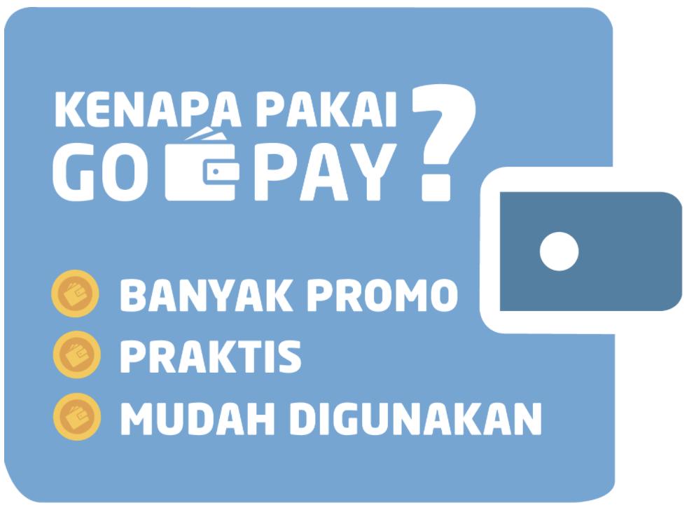 Kemudahan Transaksi Dengan GO-PAY