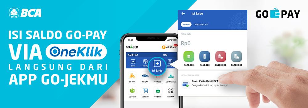 Isi Saldo GO-PAY Bisa Langsung di Aplikasi GO-JEK! | GO-PAY | GO-JEK