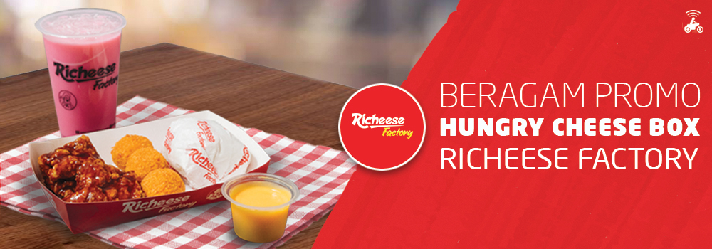 Nikmati Menu Hungry Cheese Box Dari Richeese Factory Go Food Go