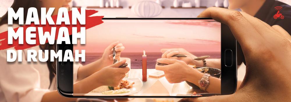 Makan Mewah di Rumah Lebih Menyenangkan dengan GO-FOOD