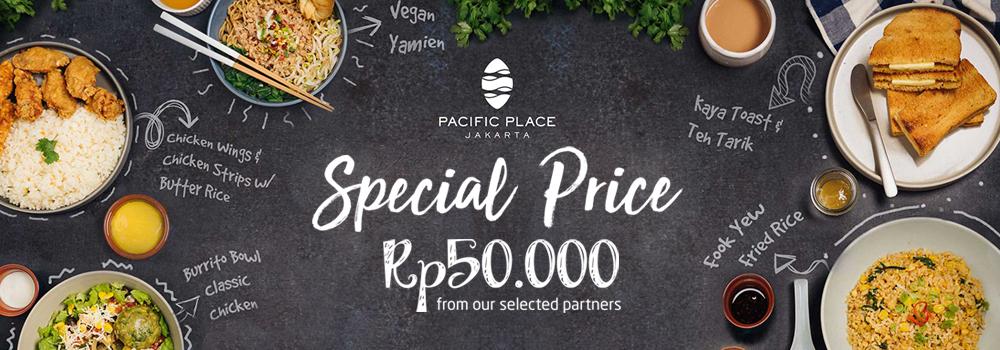 Pesan Menu Spesial Hanya Rp50.000 di Pacific Place
