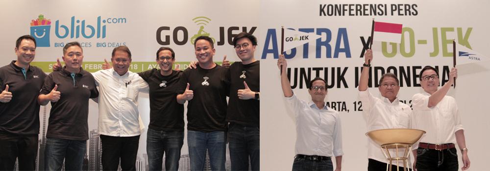 Kolaborasi National Champion: Hari Bersejarah untuk GO-JEK dan untuk Indonesia
