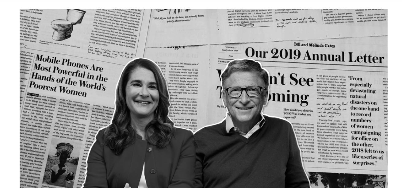 Bill & Melinda Gates: GOJEK Empowering Women to Build an Entire New Life Through Their Very Own Smartphones.