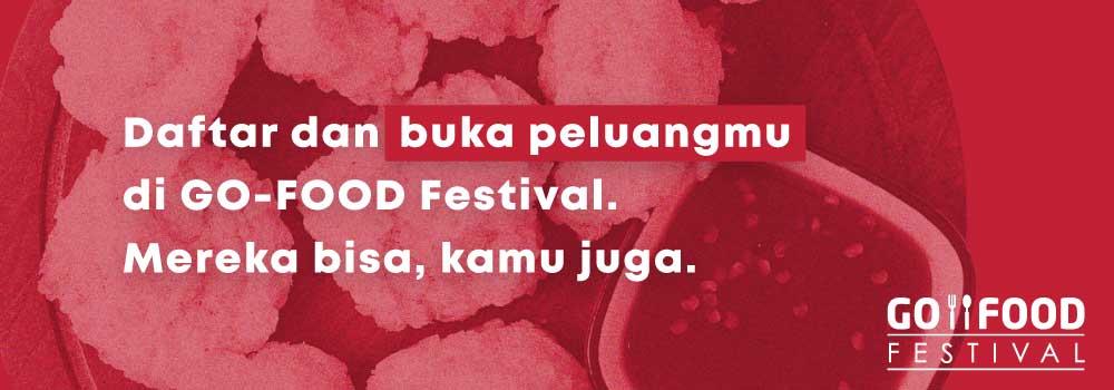 6 Langkah Mudah Daftar Menjadi Merchant GO-FOOD Festival