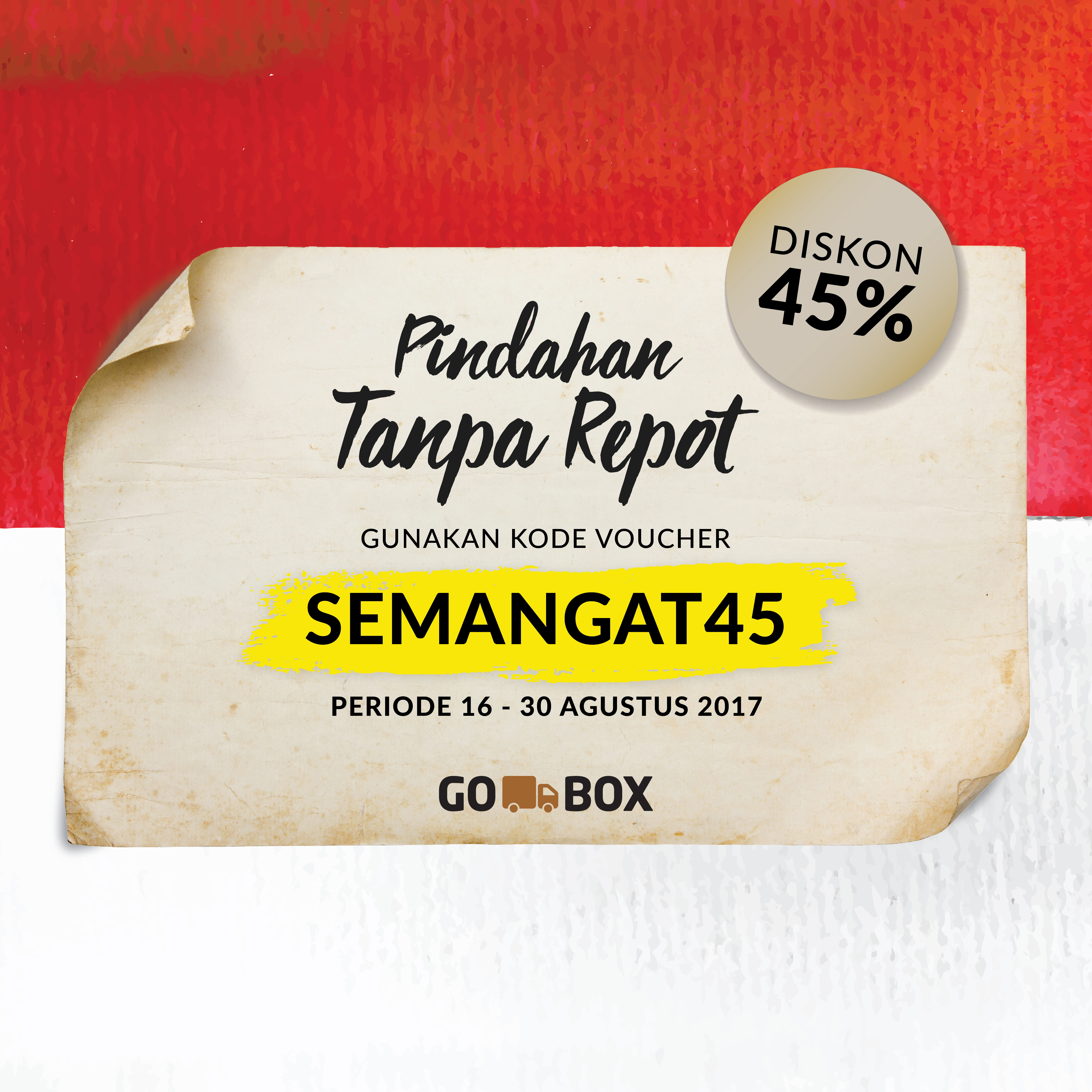 Jelang Kemerdekaan Indonesia, GO-BOX Dukung Pengusaha Lokal