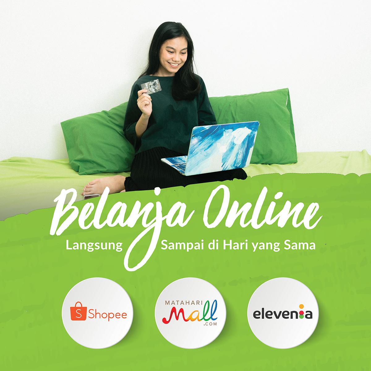 Kini Giliran MatahariMall, Shopee dan Elevenia Menjadi Partner E-commerce GO-SEND