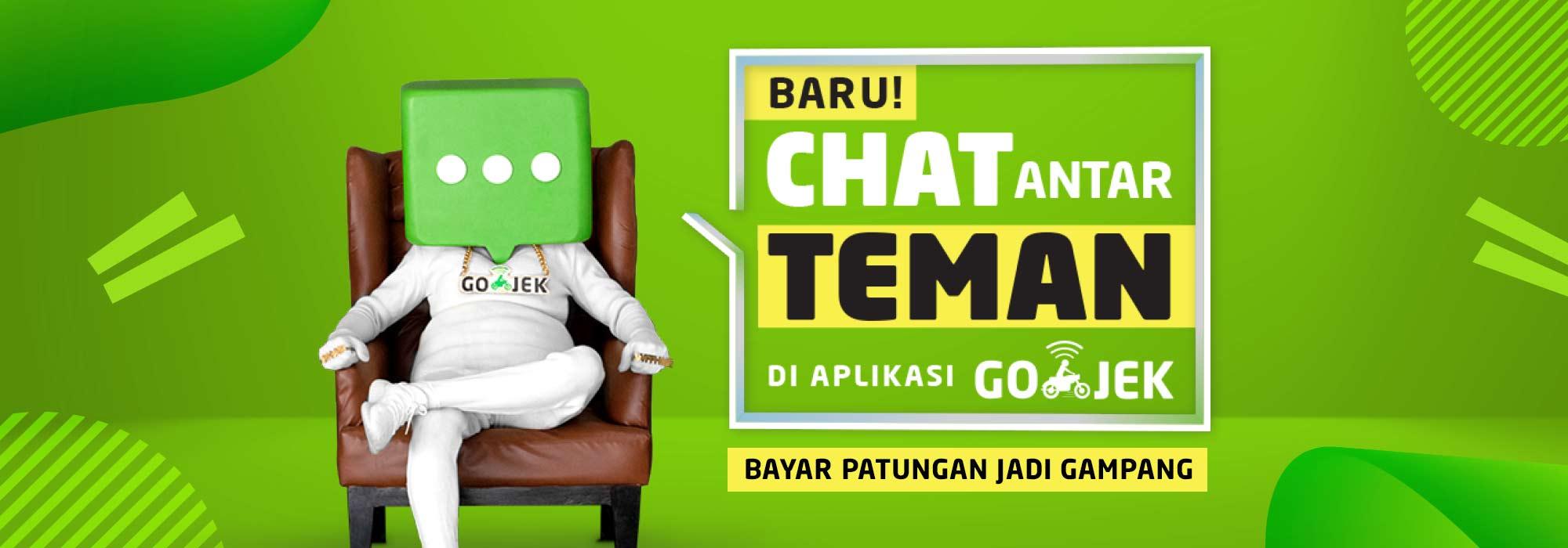 Mudahnya Chatting Sekaligus Patungan dengan Fitur Chat Baru GOJEK!