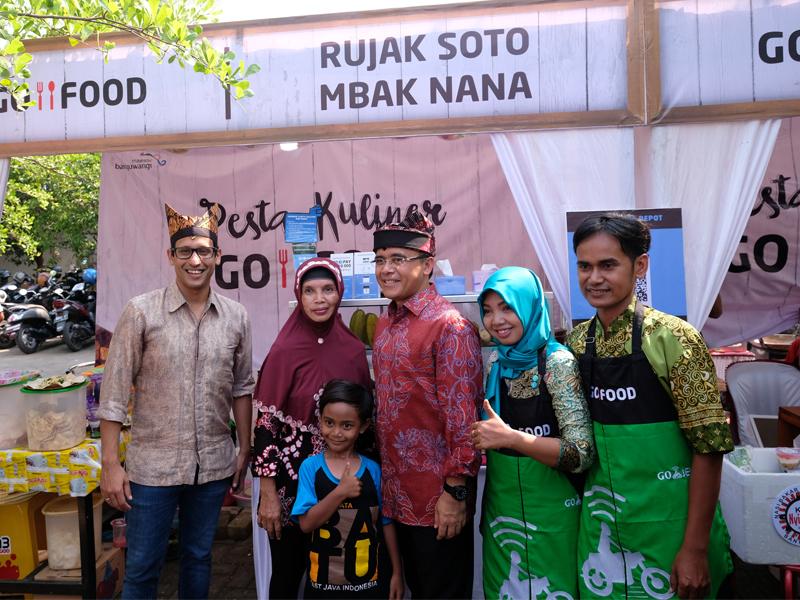Pesta Kuliner GO-FOOD Banyuwangi Sukses Menampilkan Kuliner Lokal