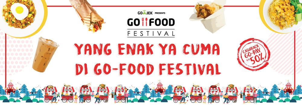 Di Rumah Bisa Sambil Makan Enak dari GO-FOOD Festival Pasaraya