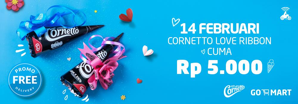Cornetto Love Ribbon Untuk Kamu dan Pasangan!