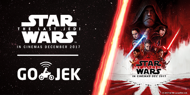Jadi yang Pertama Mendapatkan Semua yang Terbaru dari Star Wars di GO-JEK