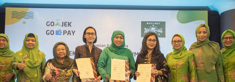 Muslimat NU Gandeng GO-JEK dan GO-PAY untuk Akselerasi Ekonomi Umat Berbasis Digital