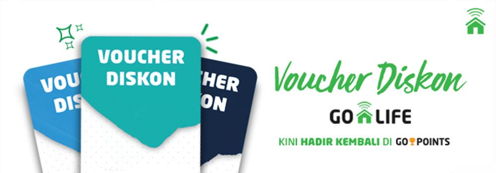 Ada Voucher Diskon hingga Rp50.000 di GO-POINTS!