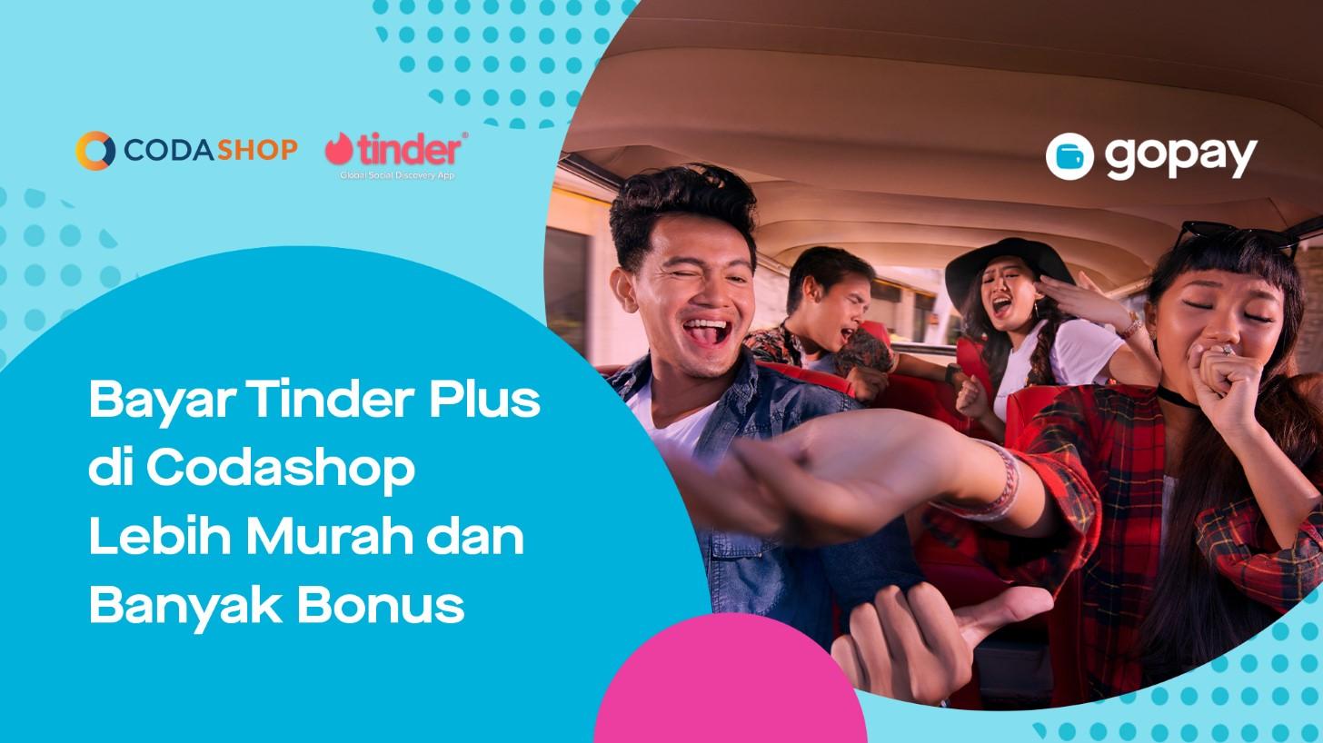 Promo Langganan Tinder Plus Dan Tinder Gold Di Codashop Cashback S D Rp30 000 Gopay