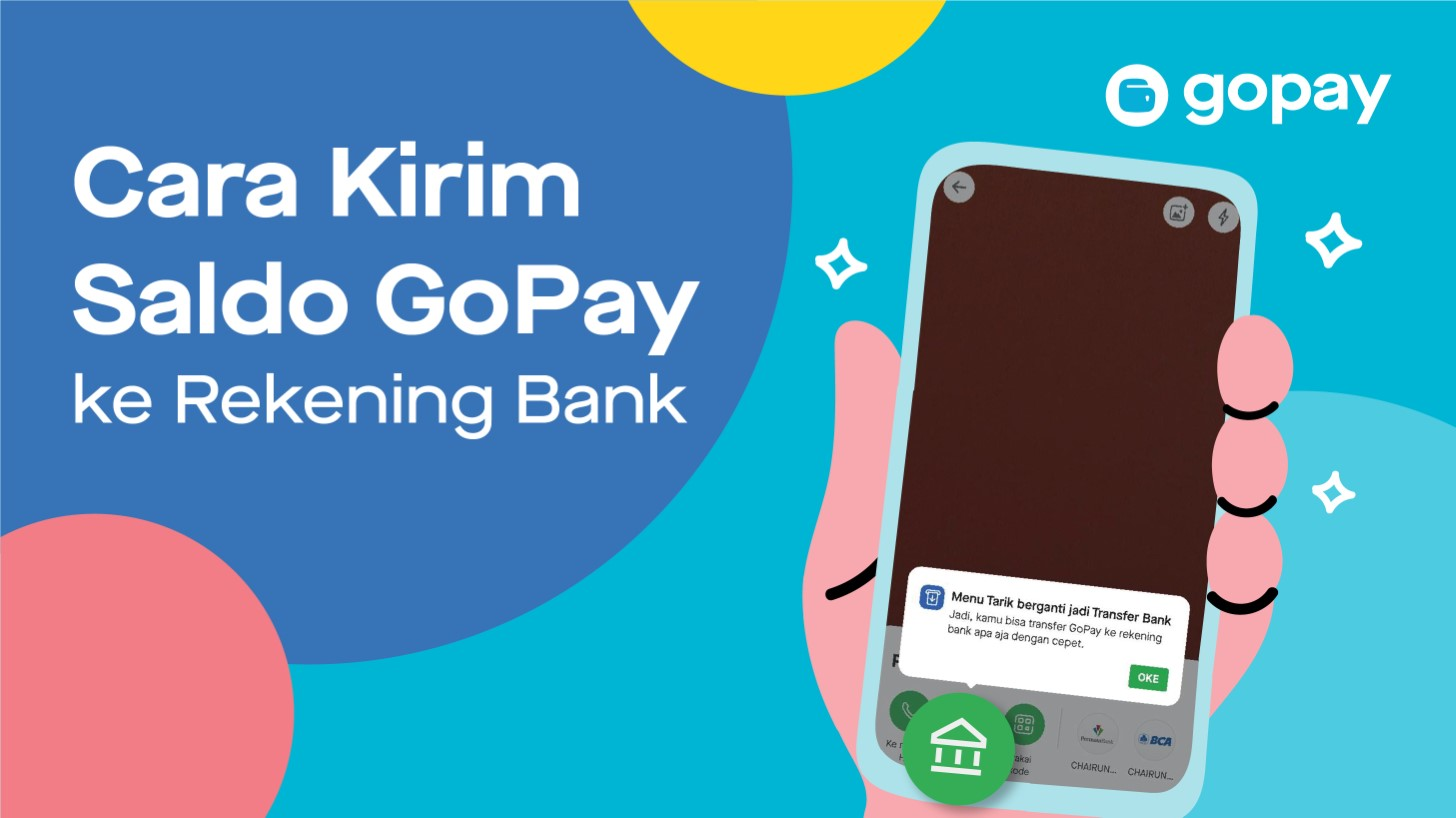 Cara Transfer atau Kirim Saldo GoPay ke Rekening Bank