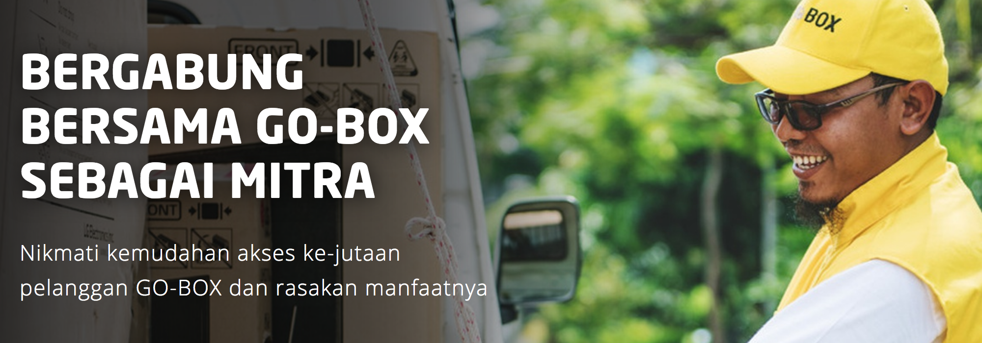Cara Daftar GO-BOX Secara Online 2019