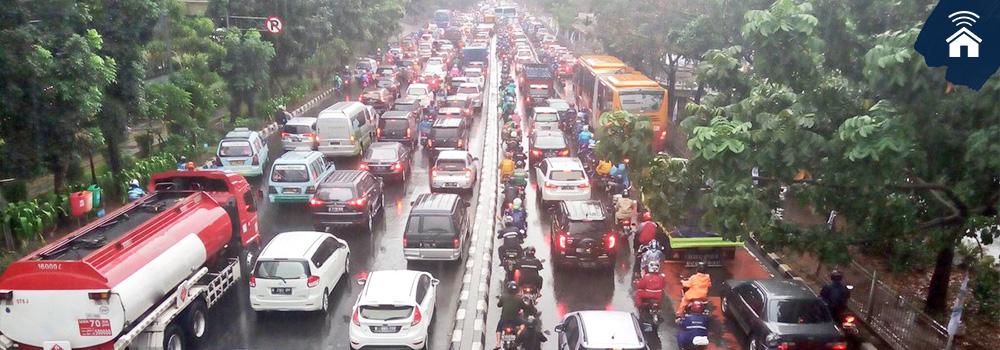 Jalur Alternatif Ganjil-Genap Jakarta Agustus 2018