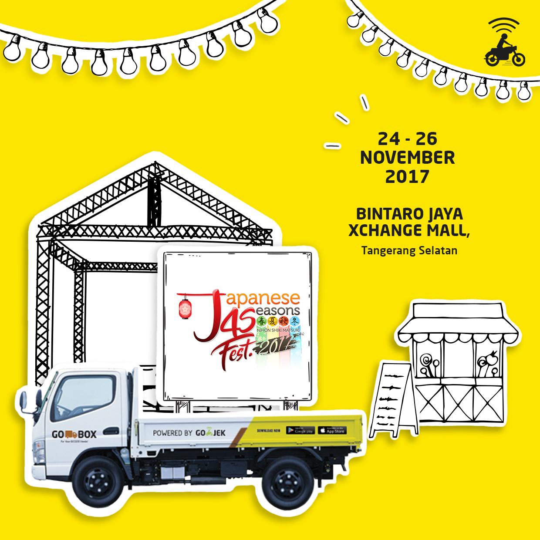 Keceriaan ala Jepang di Japanese 4 Seasons Fest 2017