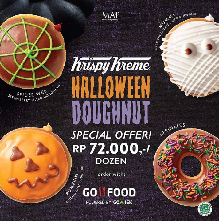 Gemas dan Lucu 5 Makanan dengan Tema Halloween