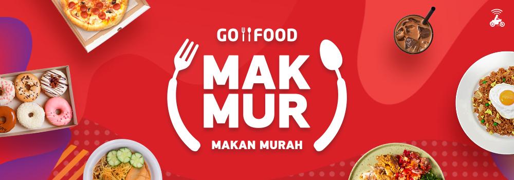 Cara Mendapatkan Promo MAKMUR (Makan Murah) GO-FOOD!