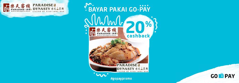 Promo Paradise Inn & Paradise Dynasty Desember 2018: Cashback 20%!
