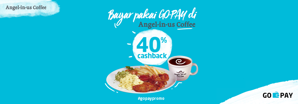 Promo Angel In Us Coffee Oktober 2018: Cashback 40%!
