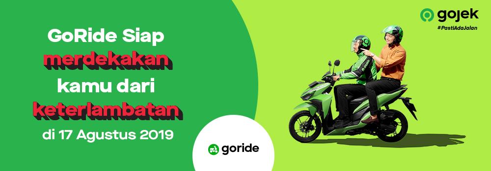 Segera Hadir Promo Goride Hemat Mulai Dari Rp178 000 Goride