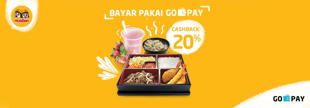 Promo HokBen Desember 2018: Cashback 20%, Paket Hemat!