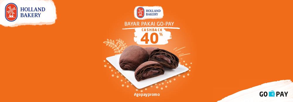 Promo Holland Bakery Desember 2018: Cashback 40%!