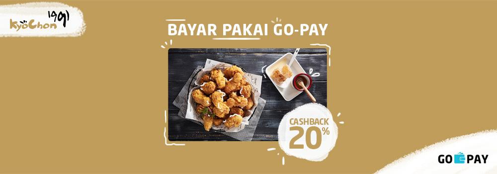 Promo Kyochon Chicken November 2018: Cashback 20%!