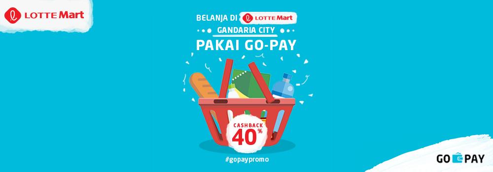 Promo Lottemart September 2018: Cashback 40%!