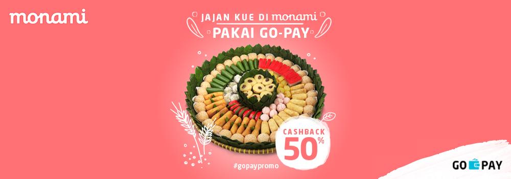 Promo Monami Bakery Desember 2018: Cashback 50%!