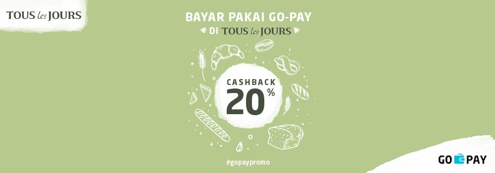 Promo Tous Les Jours Oktober 2018: Cashback 20%!