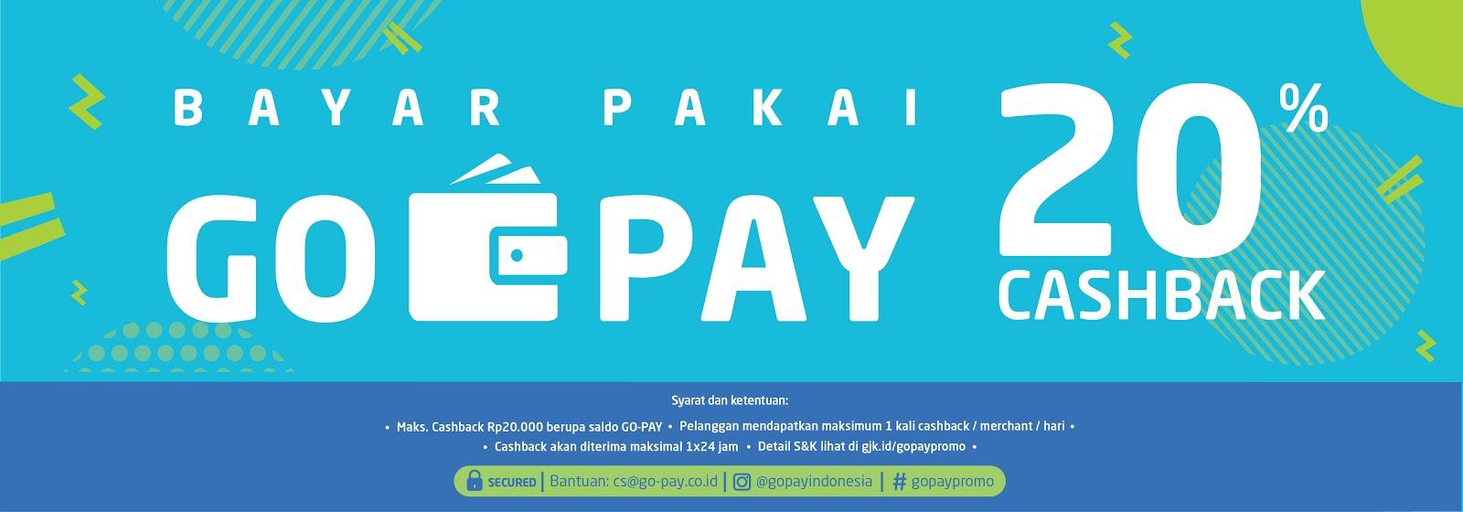 Cashback 20% di Merchant UKM dan UMKM GO-PAY