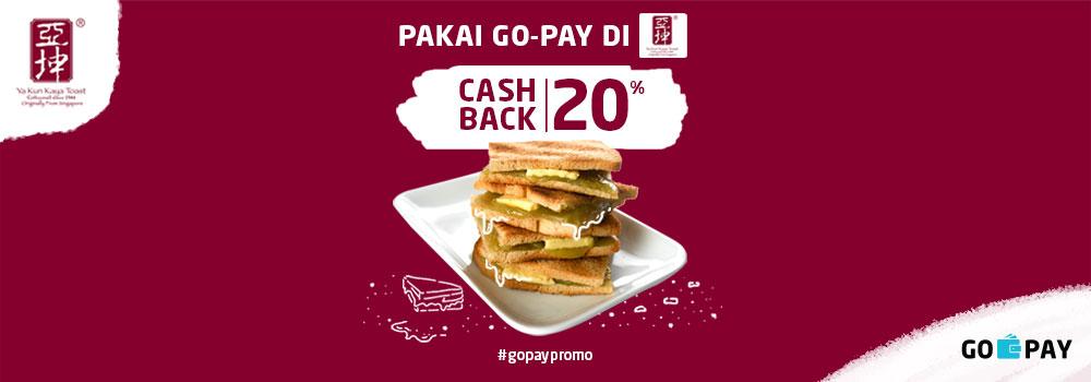 Promo Ya Kun Kaya Toast April 2019: Cashback 20%