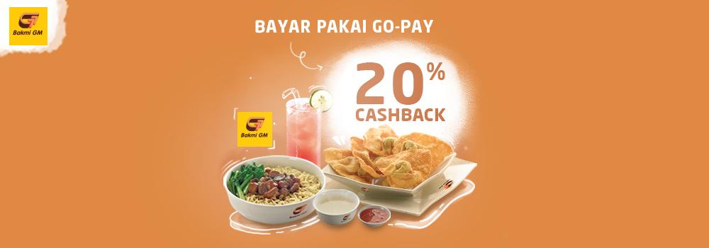 Promo Bakmi GM Agustus 2019: Cashback 20%