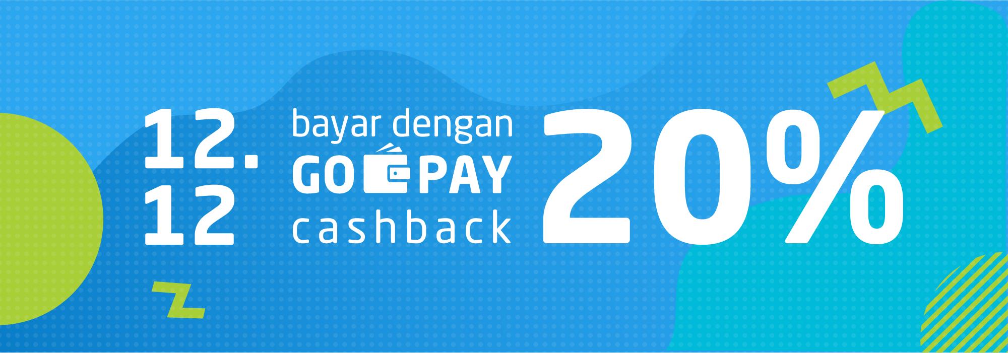Promo Belanja Online Desember 2018: Pesta 12.12 Cashback 20%