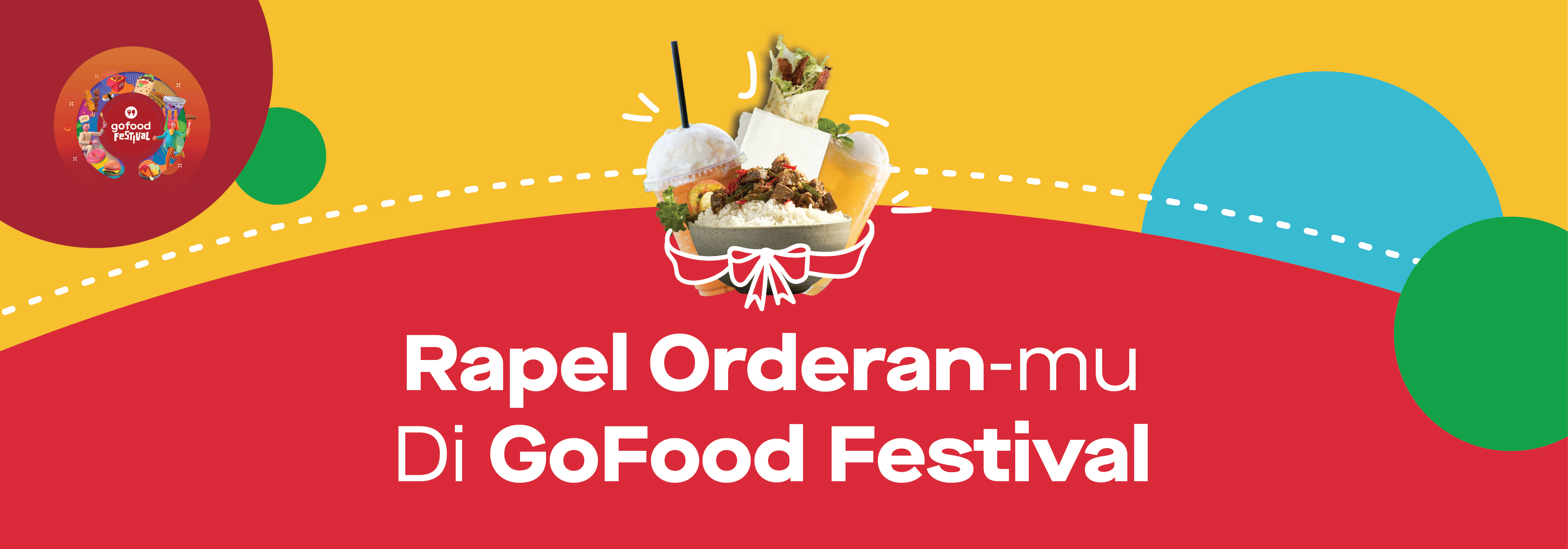 Promo Gofood Festival Oktober 2019 1x Order Dapet Rapel Orderan Gofood Festival