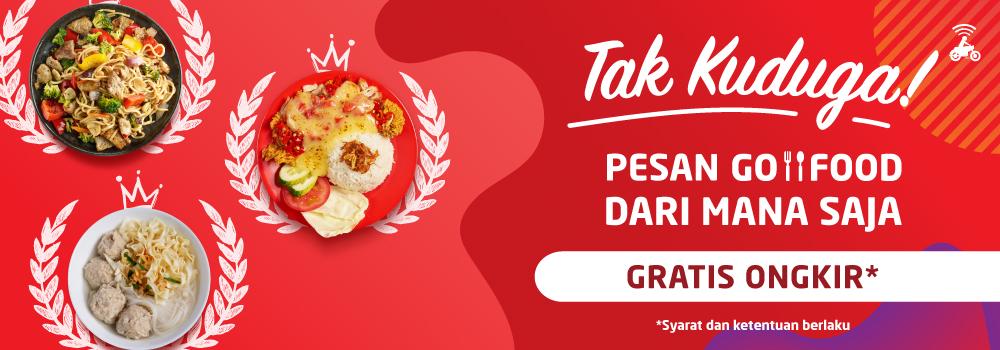 Promo Go Food Makassar Gratis Ongkir Sepanjang Hari Gofood