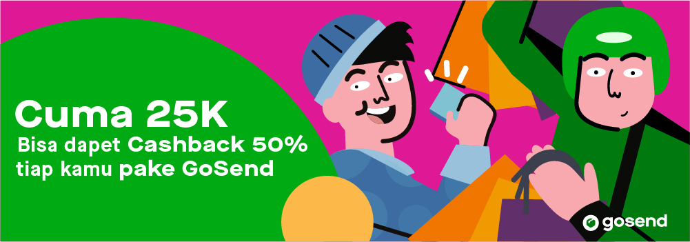 Promo GoSend September 2019:  Cashback GoPay 50% di E-commerce Favoritmu!