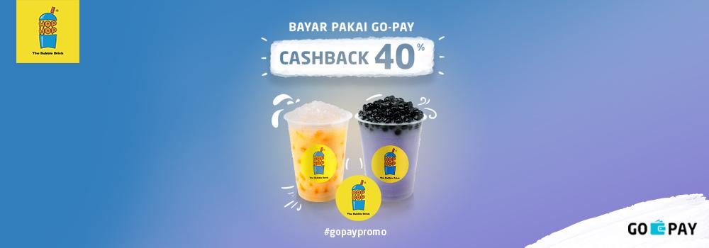 Promo Hop Hop Desember Cashback 40%!