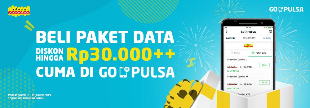Promo Indosat Januari 2019, Diskon Paket Data Hingga Rp30.000++