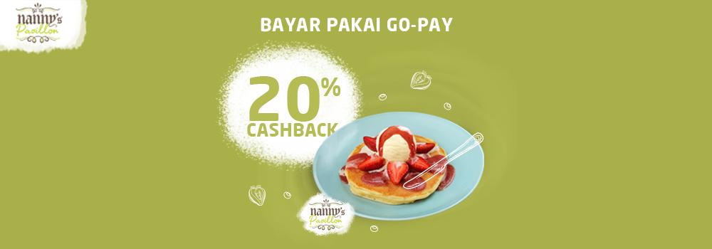 Promo Nanny's Pavillon Maret 2019 Cashback 20%