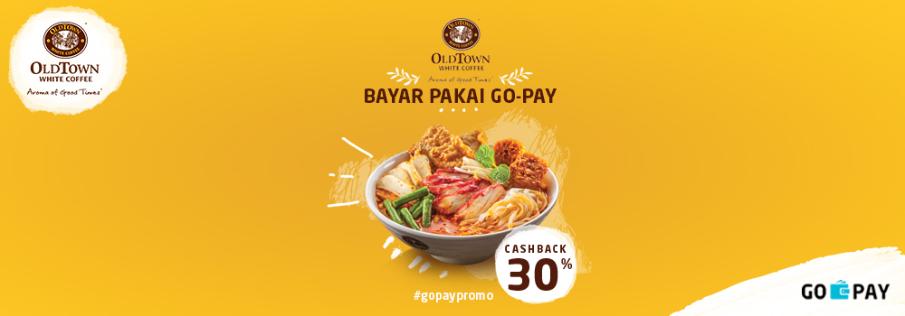 Promo Old Town White Coffee Desember 2018: Cashback 30%!