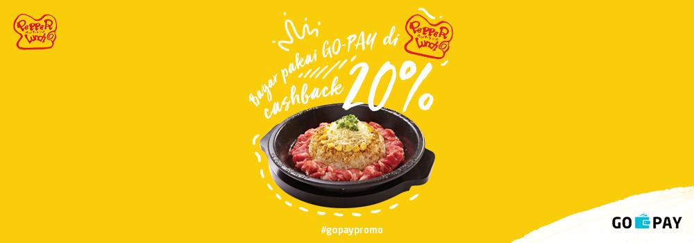 Promo Pepper Lunch Februari 2019: Cashback 20%!